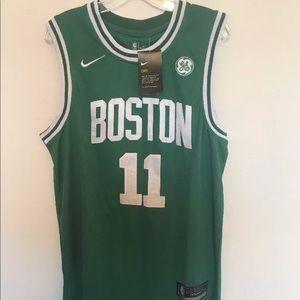 430f7dcad Nike Shirts - Kyrie Irving Boston Celtics swingman Jersey green